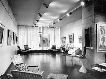 Gallery 101 Rand Central Johannesburg - Jan Buys opening exhibition 5th April 1961