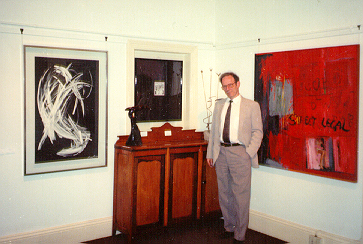 Part of PELMAMA PERMANENT ART COLLECTION (E. Harington, W. Steyn, M. Huyser, N van Rensburg and privately owned Lucas Sithole - Oct.1992