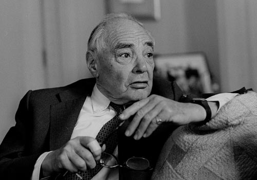 Mr H.F. Oppenheimer, Johannesburg - 1990s - photo by Raymond Preston - copyright Sunday Times