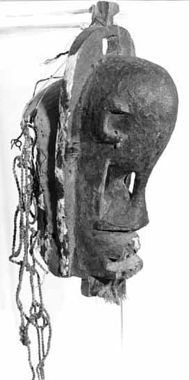 """Dogon Hunter's Mask"" (Mali) - wood - 47x23 cm (PELMAMA)"